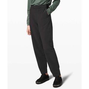 NWT Lululemon Lab Esker Straight Pant Black 4